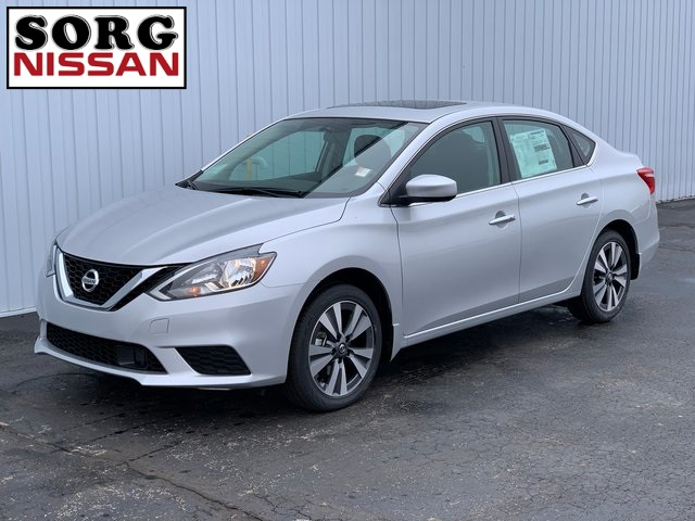New 2019 Nissan Sentra SV FWD 4D Sedan Special Edition Package